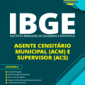 Apostila IBGE 2020 PDF – Agente Censitário Municipal e Supervisor (ACM e ACS)
